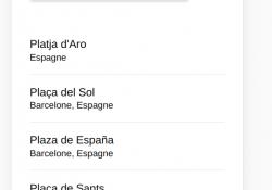Ionic Google places